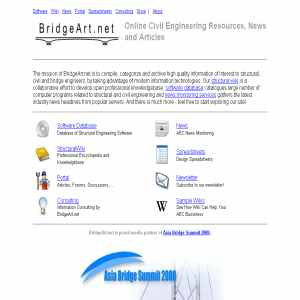 Directory of Software for Civil and Structural Engineers