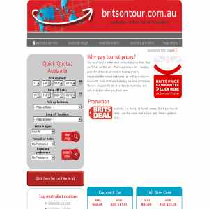 Car hire Australia for British travellers