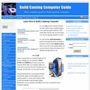 Buildgaming Computer on Build A Gaming Computer Or Buy Pc Hardware Info