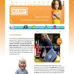 Bulbby - Personalised children products
