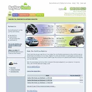 New & Used Honda | Contract Hire