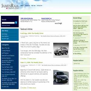 Sports Articles by James Raia