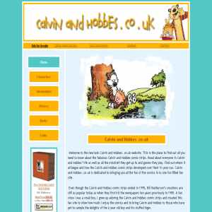 Unofficial Calvin and Hobbes Website