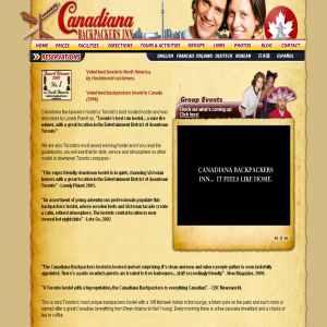 Canadiana Backpackers Hostel Toronto