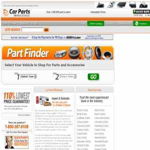 Car parts wholesale