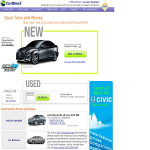 Find the Best New and Used Cars Online at CarsDirect.com