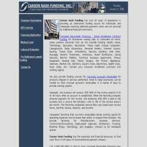 Carson Nash Funding, Inc.