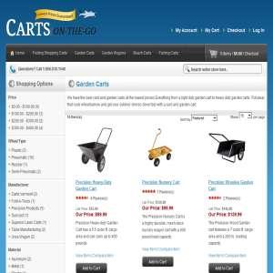 Garden Carts on the Go