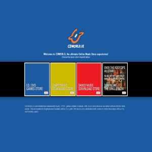 CDWorld | Irish Music Sales, DVDs, Games & Books