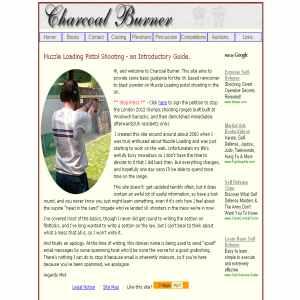 Charcoal Burner