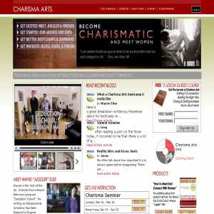 Pick Up Artist | Charisma Arts