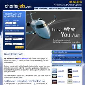 CharterJets.com - Private Jet Charters