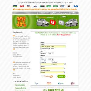 Cheap Car Hire Comparison