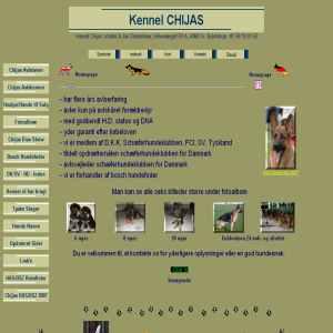 Kennel Chijas schäferhundopdrät