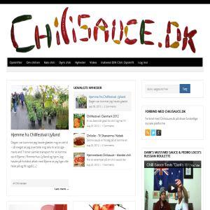 Chilisauce - Chili growers DK