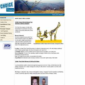 African Choice Tours and Safaris