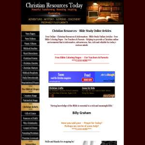 Christian Resources Today
