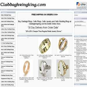 Claddagh Rings & Celtic Jewelry