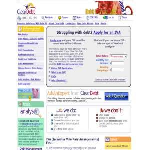 ClearDebt Debt Management
