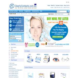 Clearly Contact Lenses Australia