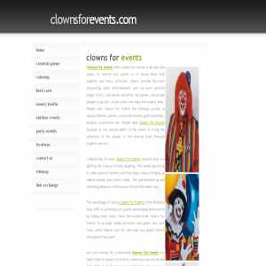 Clowns For Events | Clowns For Hire
