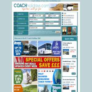 Coach Holidays | coach trips, uk coach tours, Leger Holidays, WA Shearings