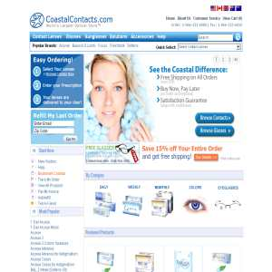 Coastal Contact lenses