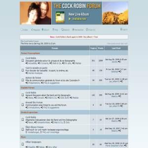 Cock Robin Forum