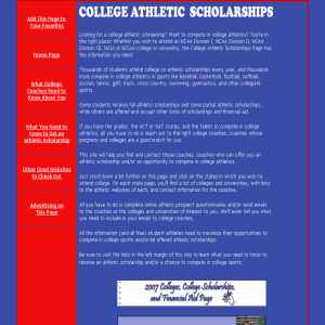 College athletic scholarships athletics sports for College fishing scholarships