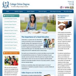 College Online Degree