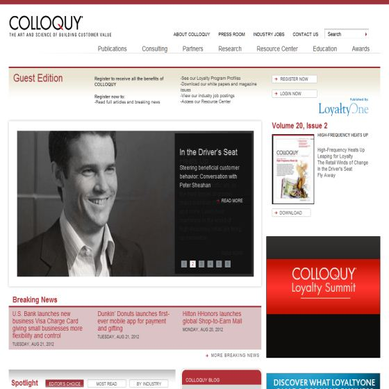 Customer Loyalty Marketing Programs - Colloquy