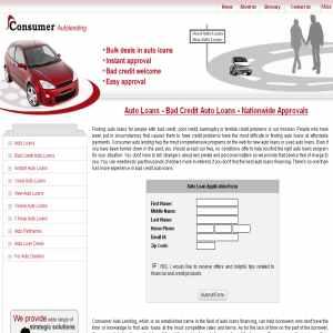 Consumer Auto Lending