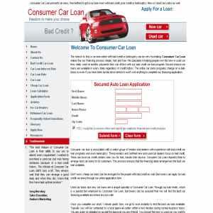 Car Loan | Bad Credit Car Loan