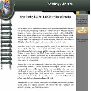 Cowboy Hat History And Information