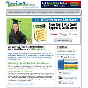 Free Credit Score - Creditscorequick.com