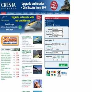 Holidays and Hotels at CrestaHolidays.co.uk