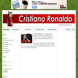 Cristiano Ronaldo Fansite