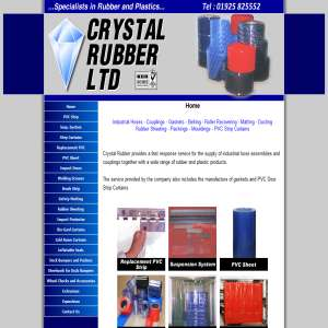 Crystal Rubber: PVC Curtains