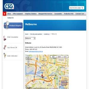 CSG print services Melbourne