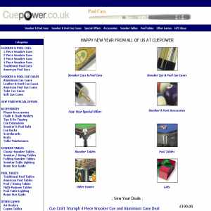 CuePower | Pool Cues, Snooker Cues, cases, Pool Tables, Snooker Tables