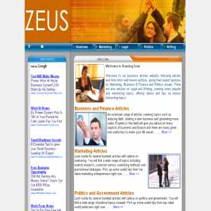 Dancing Zeus | Business News to the Beat