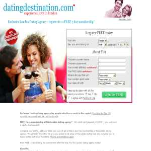 London dating agency - Dating Destination