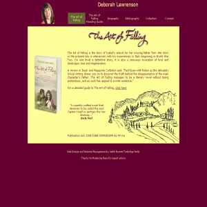 Deborah Lawrenson, author of The Art of Falling