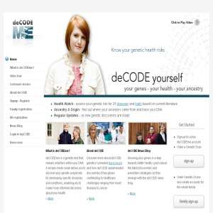 deCODEme - your genes, health & ancestry
