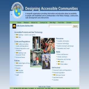 Designing Accessible Communities - a non profit organisation