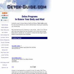 Detox Guide