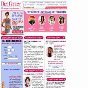 Diet Center - Personalized diets & weight loss