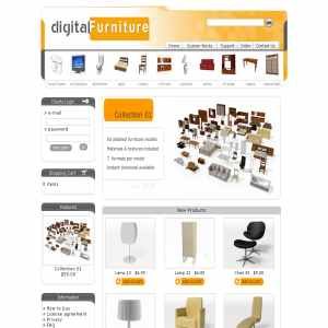 Digital Furniture 3d models