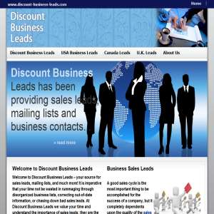 Discount Business  Leads