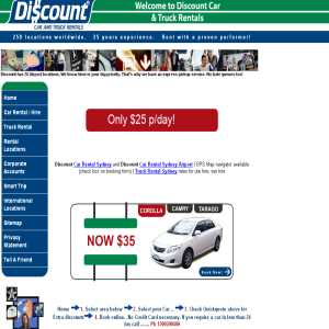 Discount Car Hire Sydney